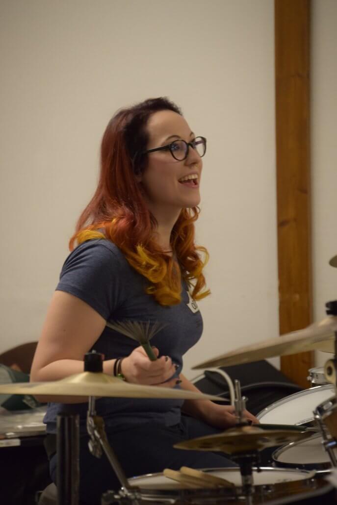 The Drummerqueen Katharina Marosz
